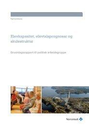 Her kan du lesa heile rapporten frå Norconsult. - Fjell kommune