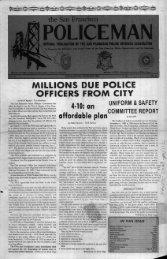 December 1980 - San Francisco Police Officers Association