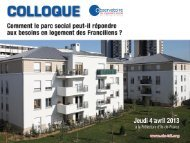 Colloque_OLS_Introduction - DRIHL Ile-de-France
