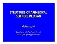 STRUCTURE OF APIMEDICAL SCIENCES IN JAPAN - Apinews