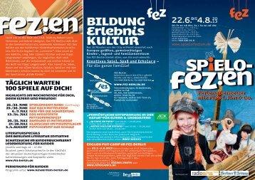Download Flyer | SpieloFEZien - Ferienabenteuer ... 2013