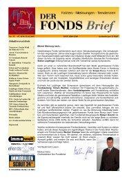 n-tv: Fonds und Kapitalanlagen auf dem Schirm - WMD Brokerchannel