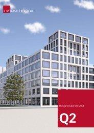 Halbjahresbericht zum 25. August 2008 - IFM Immobilien AG