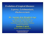 Evolution of tropical diseases - Antonio Rondón Lugo