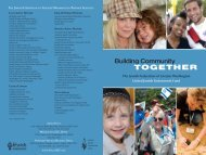 2008 Annual Report to the Community - Jewish Federation of ...