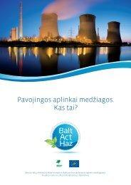 PDF – 2.3 MB (Lietuvių k., 2009) - Baltijos aplinkos forumas Lietuvoje