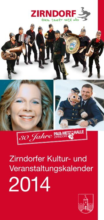 Zirndorfer Kultur- und Veranstaltungskalender - Stadt Zirndorf