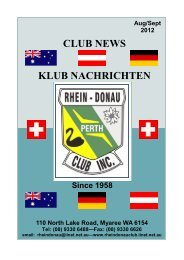 2012_Aug_Sept final.pub - Rhein Donau Club - iiNet