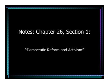 Notes: Chapter 26, Section 1: - Mona Shores Blogs