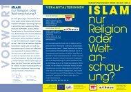 islam - Aktion 3. Welt Saar