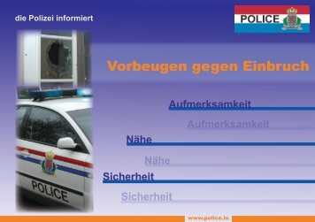 Achtung - Police Grand-Ducale