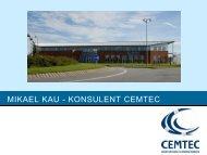 Cemtec Timeline - Innovation X