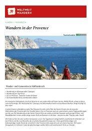 Wandern in der Provence - Weltweitwandern