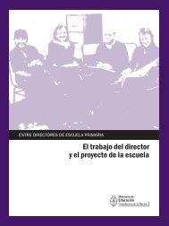 El trabajo del director y el proyecto de la escuela - Repositorio ...