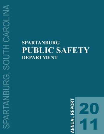 2011 Crime Statistics Booklet.pdf - City of Spartanburg
