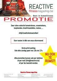 Ontdek de promoties  - Reactive