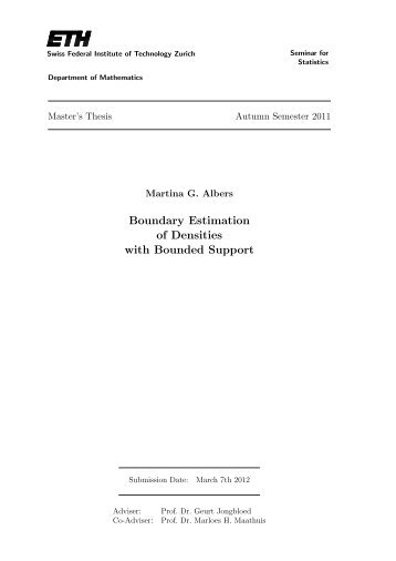 Boundary Estimation of Densities with Bounded Support