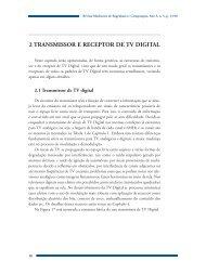 2 TRANSMISSOR E RECEPTOR DE TV DIGITAL - Mackenzie