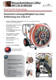 Dokumentation MH236, MH260 Easy Pow'Air ... - Leader GmbH