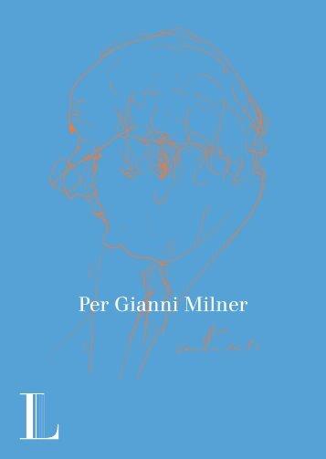 Per Gianni Milner - Fondazione Ugo e Olga Levi onlus