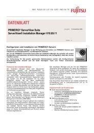 PRIMERGY ServerView Suite ServerView® Installation ... - reckzigel.at