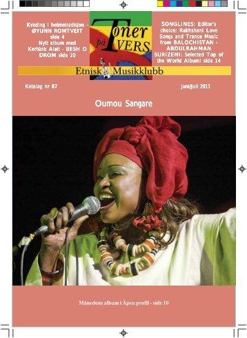 Katalog nr 87 - Velkommen til Etnisk Musikklubb
