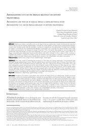Adolescentes e o uso de drogas ilícitas: um estudo transversal
