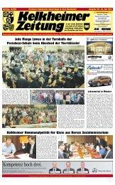 Kelkheimer Zeitung - Taunus Nachrichten