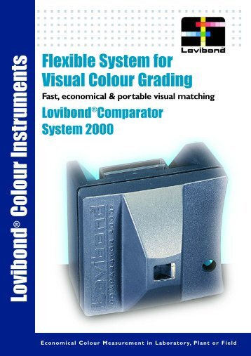 Comparator 2000 Brochure