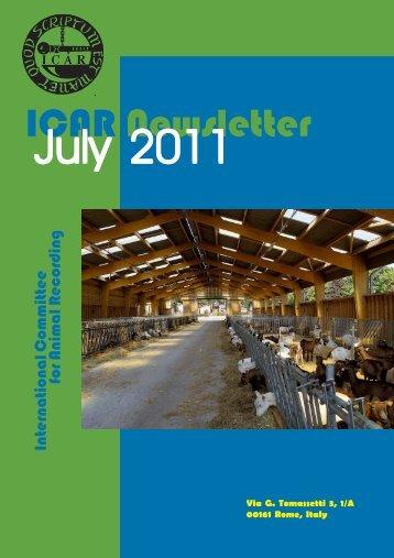 ICAR Newsletter - July 2011