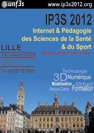 Programme - Université Virtuelle Paris 5