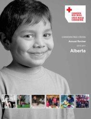Alberta - Canadian Red Cross