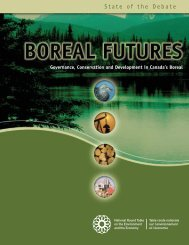 Boreal Futures: Governance, Conservation and Development ... - NEIA