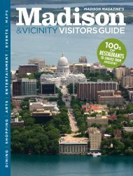 vicinityvisitorsguide - Madison Magazine