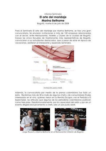 Informe Arte del Maridaje.pdf - Wines Of Argentina