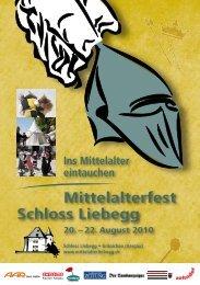 Gesamtes Programmheft - Mittelalterfest Schloss Liebegg