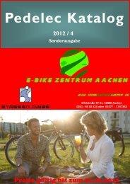 Pedelec Katalog - beim E-Bike Zentrum Aachen