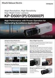 KP-D5001(P)/D5000(P) - Pyramid Imaging