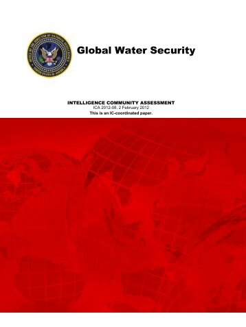 Global Water Security - Hydrology.nl