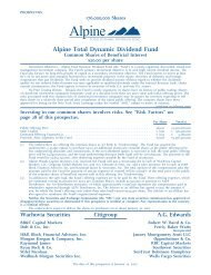 Alpine Total Dynamic Dividend Fund - E*Trade