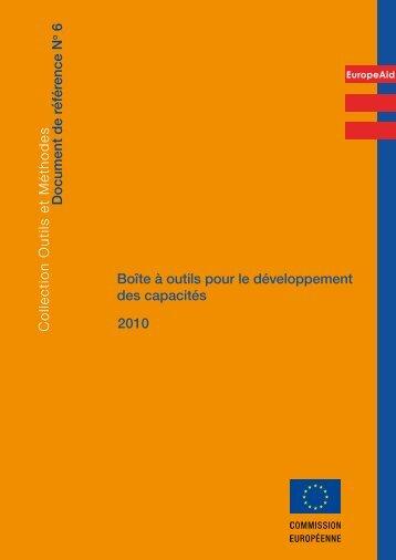Boîte à outils pour le développement des capacités ... - Capacity4Dev