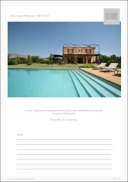 Finca near Pollenca - Ref. 01-22 - Luxury Holidayhomes on Mallorca