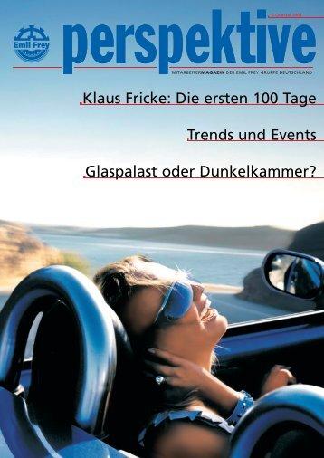 Klaus Fricke: Die ersten 100 Tage Trends und ... - Markus Jantzen