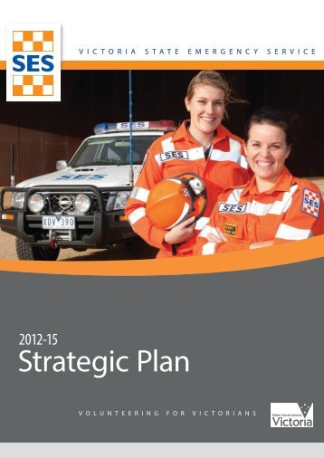 Strategic Plan - Victoria State Emergency Service