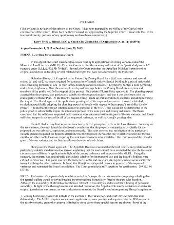 Price v. Himeji, LLC - Appellate Law NJ Blog