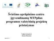 182_09 05 13 Vigilija Simona - MTP+ pristatymas ... - Lyderių laikas