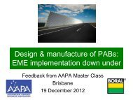 Design & manufacture of PAB - Aapaq.org