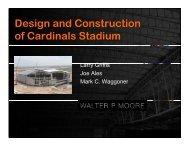 Design and Construction of the Arizona Cardinals Stadium