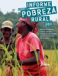 Informe sobre la Pobreza Rural 2011. - Oficina Regional de la FAO ...