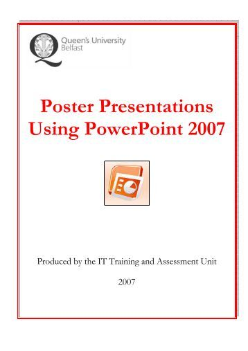 how to make posters in powerpoint